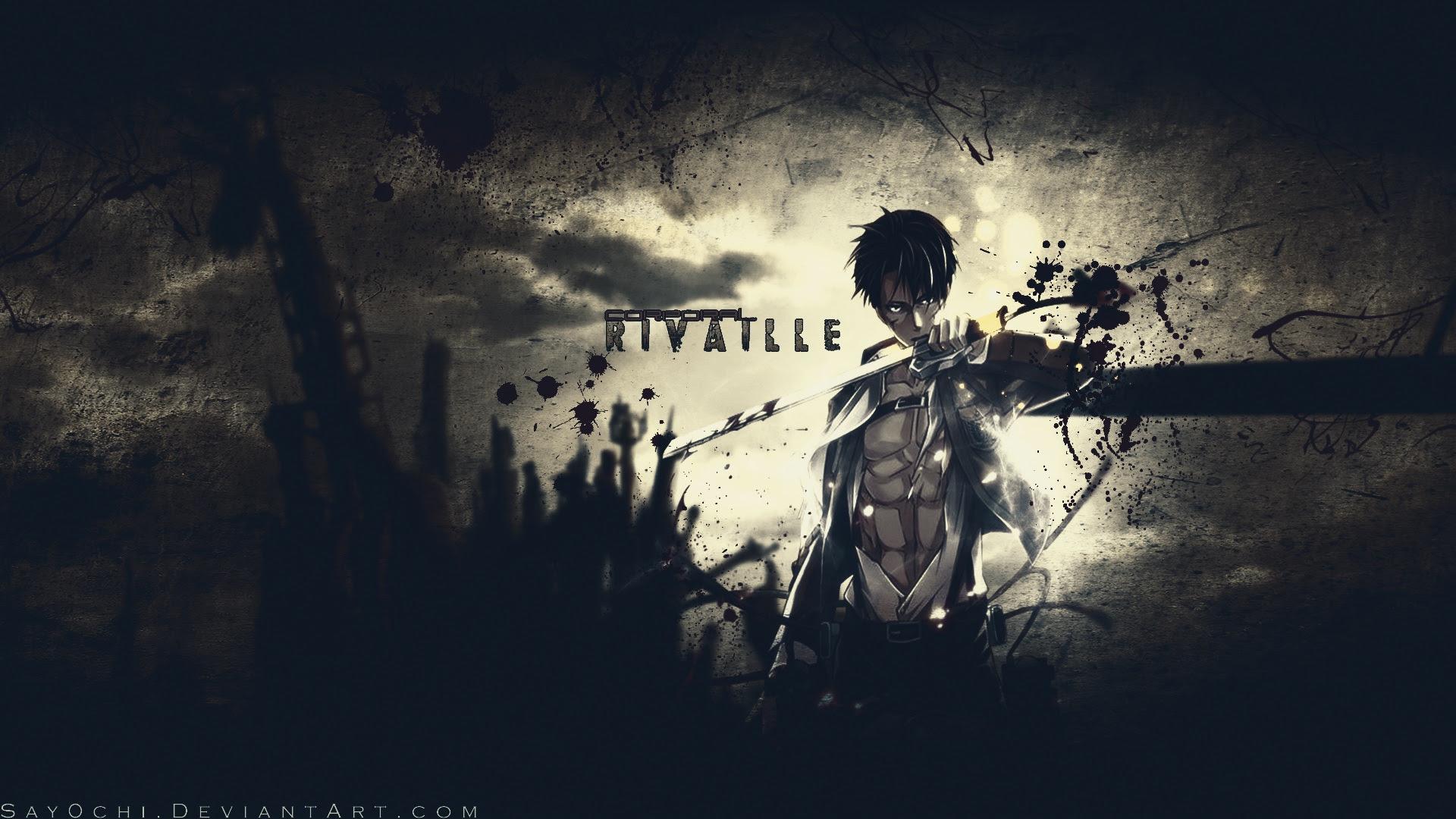 Rivaille Wallpaper Shingeki No Kyojin Attack On Titan