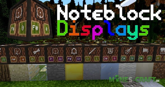 Note-Block Displays Resources [1.13.2] | | Mines-Craft.com