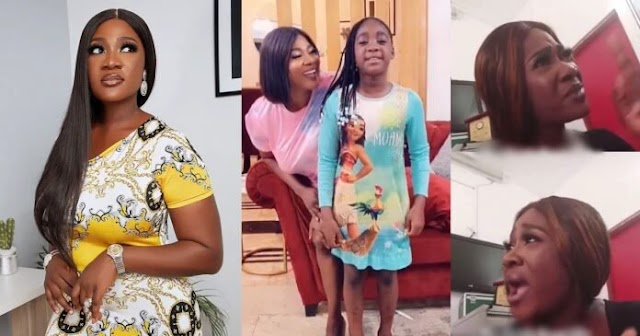 Actress, Mercy Johnson Goes Live On Internet, Debunks Claim Of Using Thugs To Beat Up Staff As She Visits Her Daughter's School Again (Video)