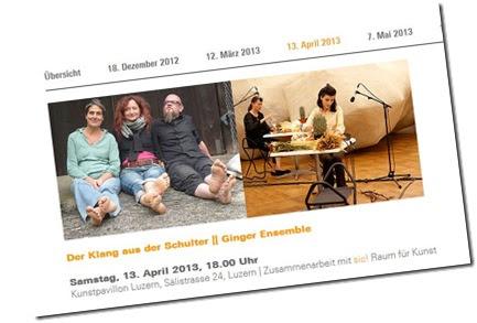 forum neue musik mit judith huber und ginger ensemble