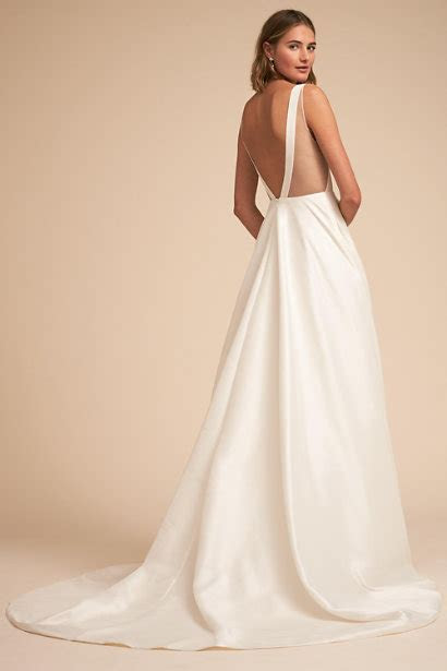 21 Astonishing Ideas of Backless Wedding Dresses   The