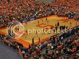 Syracuse Orangemen before game