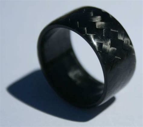 Solid Carbon Fiber Ring   eBay