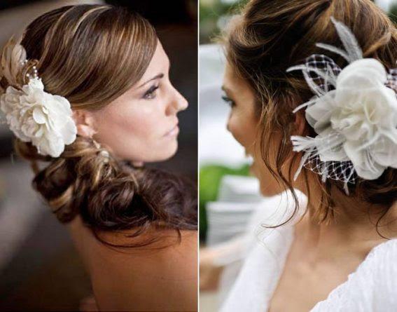 557273 Vários acessórios podem ser usados nos penteados para noivas. Foto divulgação Tendências de penteados para noivas 2013