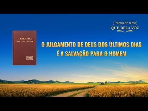 """Filme evangélico """"Que bela voz"""" Trecho 5 – O julgamento de Deus dos últimos dias é a salvação para o homem"""