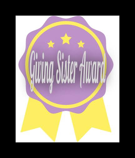 GIVING SISTER AWARD