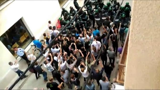 Actuació policial en el referèndum de l'1-O