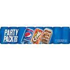 Wild Cherry, Orange Crush, Mug Root Beer Combo Pack (12 oz. cans, 32 pk.)
