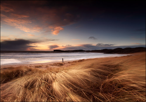 Oldshoremore Beach by angus clyne