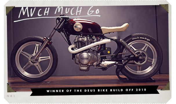 Winner of the Deus Bike Build Off 2010