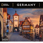 Cal 2020-National Geographic Germany Wall (US, Blank book)