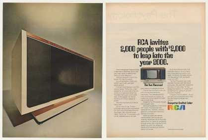 RCA Two Thousand Color TV Television (1969)