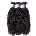 "UNice Hair Kysiss Series Jerry Curl Malaysian Virgin Human Hair, 20"" 20"" 22"", 3 Pieces"
