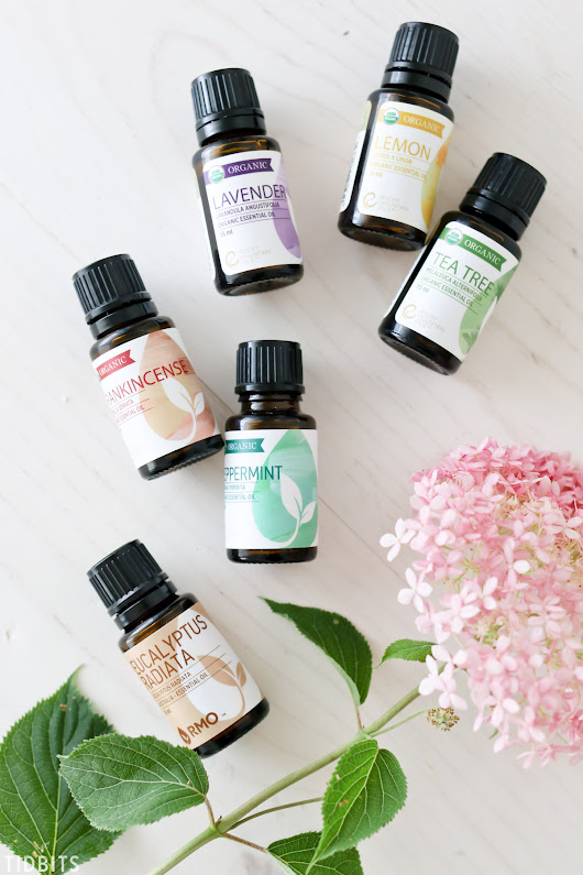 6 Favorite Essential Oils I Couldn't Live Without - Tidbits