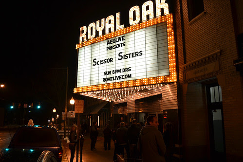 Royal Oak Music Theatre (2/27/11)