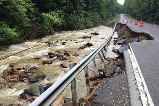 'Thousand-year' downpour led to deadly West Virginia floods | NOAA Climate.gov