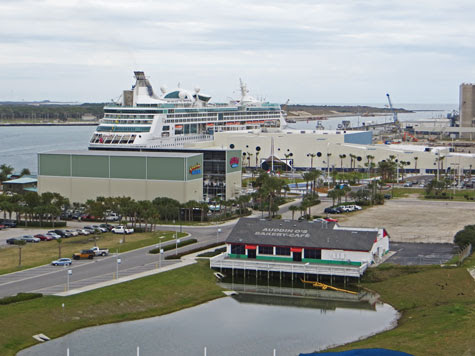 Port Canaveral - Cruise Terminal 45 miles from Orlando
