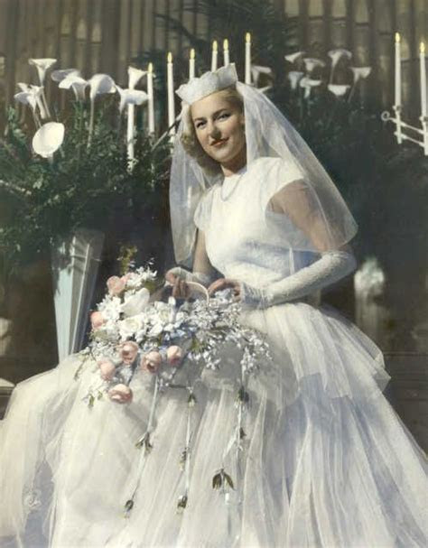 17 Best ideas about 1940s Wedding Dresses on Pinterest