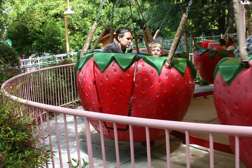 strawberry ride