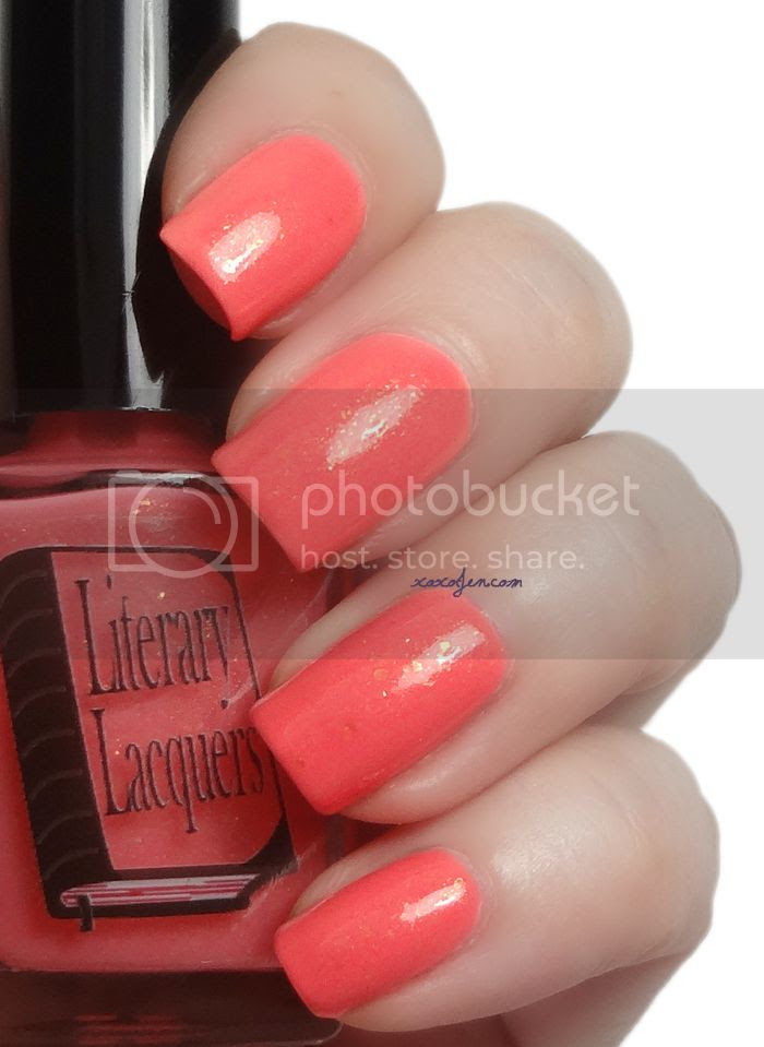 xoxoJen's swatch of Literary Lacquers Original Virtue