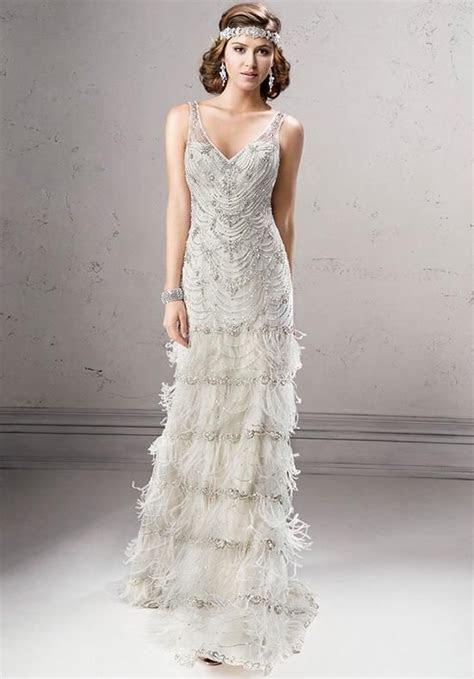 10 Gatsby Style Wedding Gowns To Theme Your Wedding Around