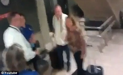 Help: A traveler filmed a woman's desperate cries for help after she said she was molested by TSA agents in the airport