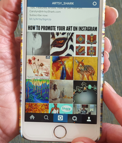 Tips for Promoting Your Art on Instagram | Artsy Shark
