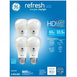 Ge Lighting 96708 Refresh Hd Daylight Led Light Bulb, 10.5 Watts