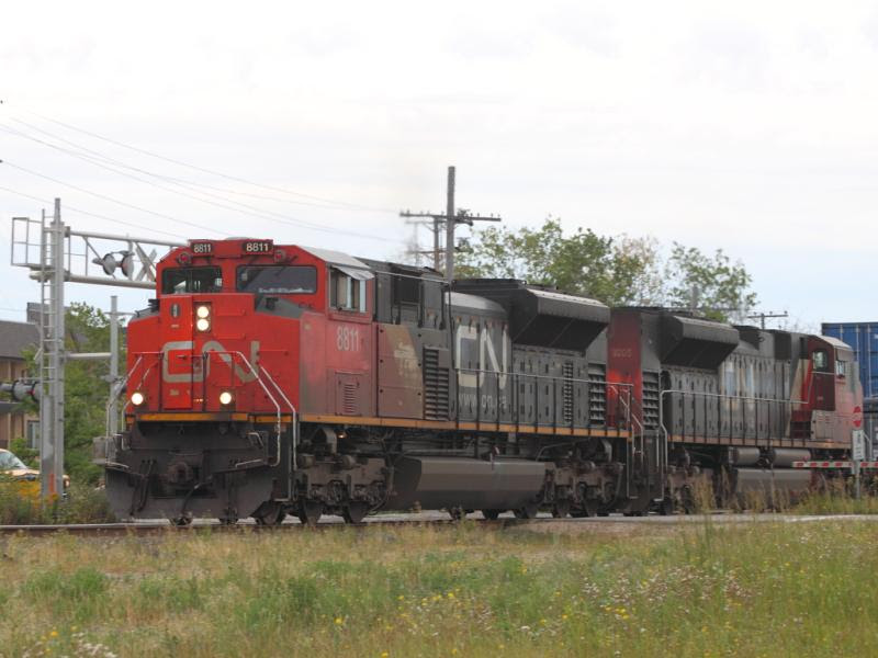 CN 8811 in Winnipeg