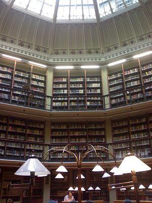 Bookshelves 3 stories