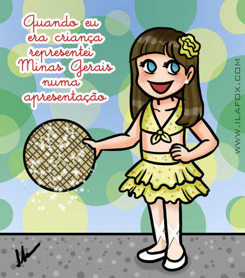 Recordar é Viver, representei Minas gerais numa apresentação, by ila fox