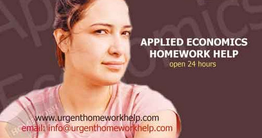 applied economics assignment help. applied economics homework help.