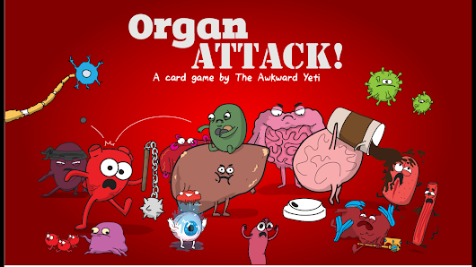OrganATTACK! - a Card Game by The Awkward Yeti