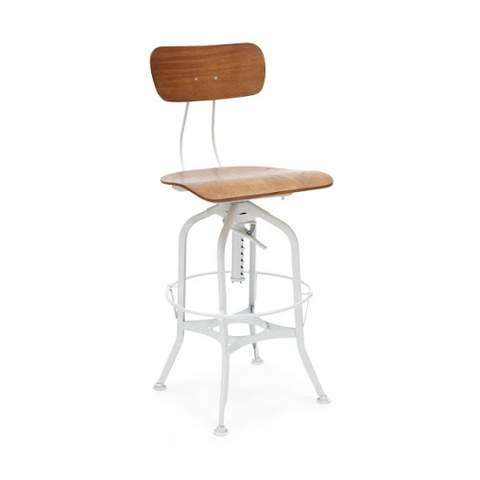 Holy Toledo Industrial Stool!