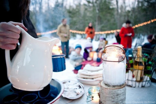 7 Essentials For An Outdoor Winter Party