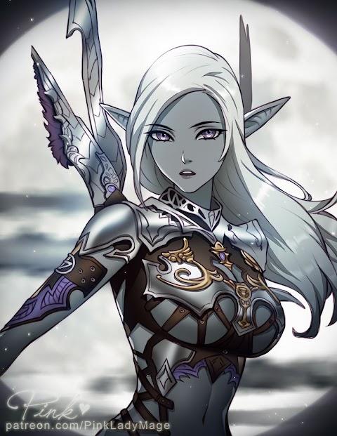 Sexy Dark Elf - Hot 12 Pics | Beautiful, Sexiest