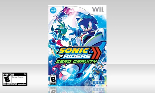 Image: Sonic Riders: Zero Gravity Game | Groupon Goods