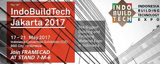 See FRAMECAD at IndoBuildTech Tradeshow in Indonesia
