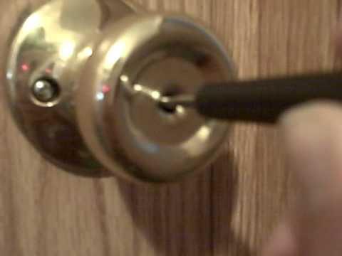 Top Graphic Of How To Unlock Bedroom Door Without Key