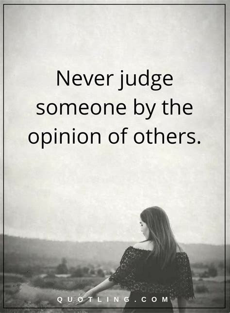 Life Quotes Judging Others