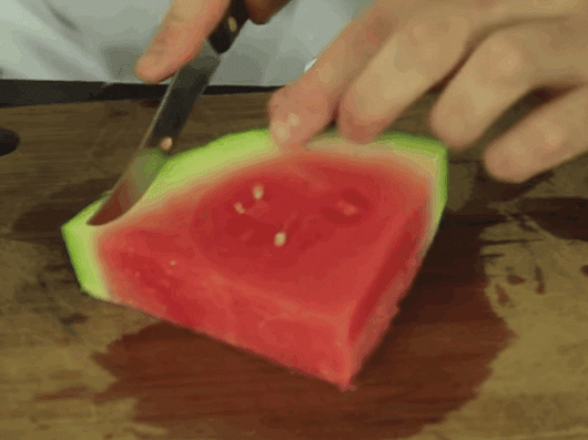 How To Eat Watermelon Without Getting Juice All Over Your Face