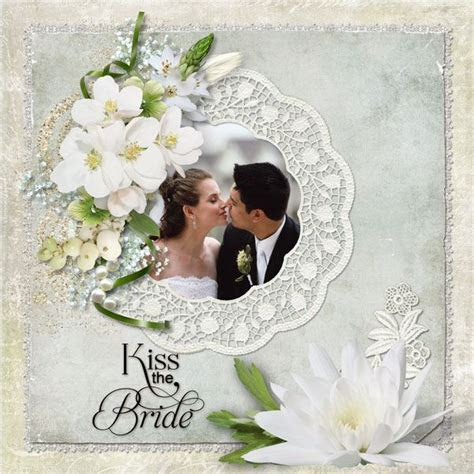 Cool Wedding Scrapbook Ideas with Some Famous Designs