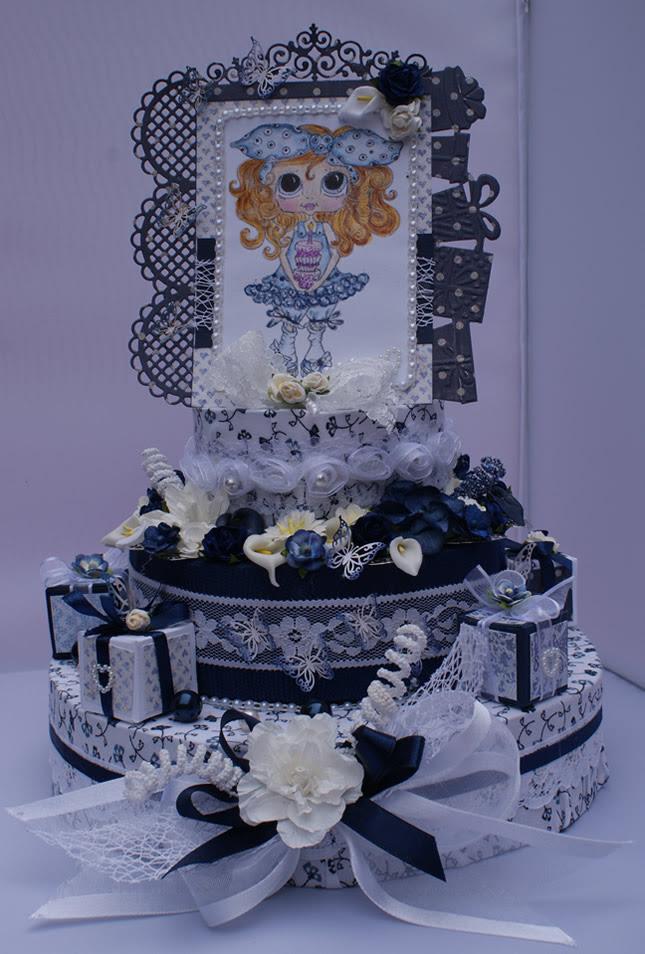 Handmade taart