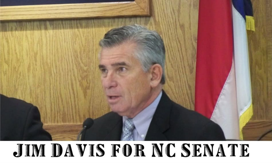 Jim Davis is a Macon County Commissioner and is a candidate for the North Carolina State Senate in District 50  Photo by Bobby Coggins