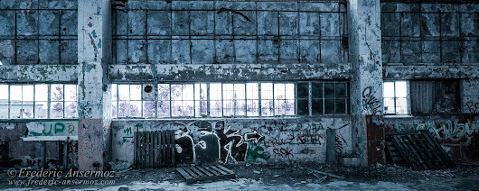 Abandoned Factory Quebec – Saint-Hubert | Ansermoz-Photography.com