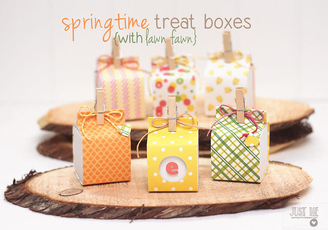 springtime treat boxes