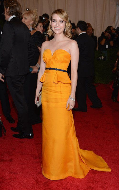 Costume Institute Gala Met Ball - May 7, 2012, Emma Roberts