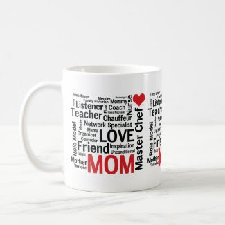 Mother's Day Amazing Multi-talented Super Mom Coffee Mugs