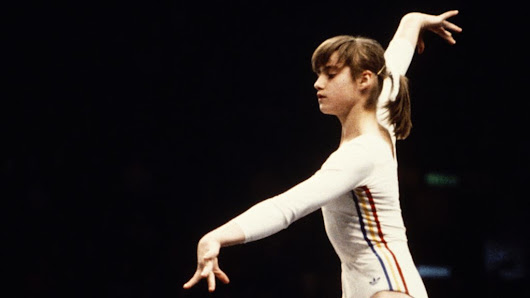 The first Olympic gymnast to score a perfect 10 - BBC News