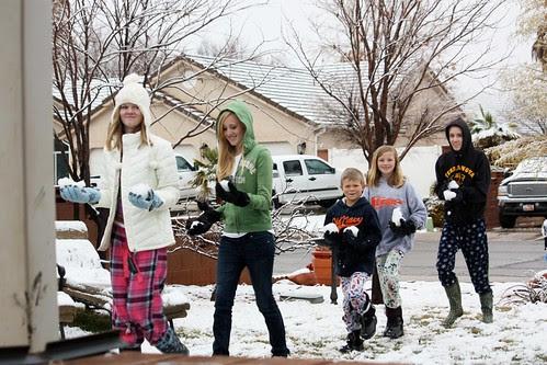 Snow Day in Utah